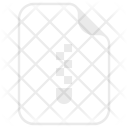 Archive Compressed Zip Icon