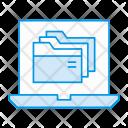 Archive Laptop Device Icon