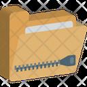Archive Zip Zip Extension Zip Folder Icon