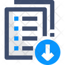 Archived List File Download Archive Icon