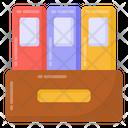 Binders Archives Folders Icon