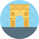 Arch Of Triumph Arch Landmark Icon