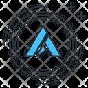 Ardor Coin Altcoin Icon
