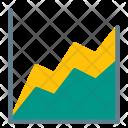 Area Chart Report Icon
