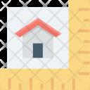 Area Calculation Home Icon