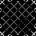 Area Dimension Size Icon
