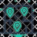 Area Range Navigation Icon