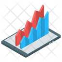 Statistics Analytics Area Chart Icon
