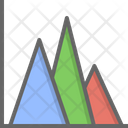 Area Chart Graph Icon