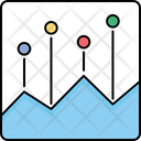 Area Chart Report Icon