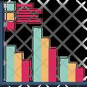 Bar Chart Compare Icon