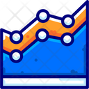 Area Chart Analysis Icon