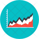 Area Graph Area Chart Data Analytics Icon