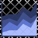 Area Chart Graph Icon