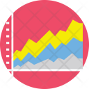 Presentation Area Chart Icon