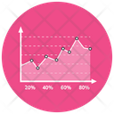 Area Infographic Area Graph Area Chart Icon