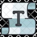 Area Type Design Icon