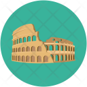 Arena Coliseum Hippodrome Icon