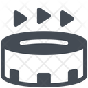 Arena Athletics Building Icon
