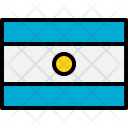 Argentina Flag Country Icon