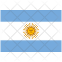 Flag Country Argentina Icon