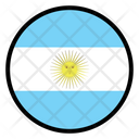 Argentina Nation Country Icon