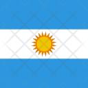 Argentina Flag World Icon