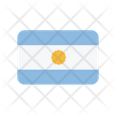 Argentina Ar Flag Country Icon