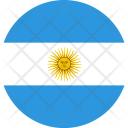Argentina Flag World Icon
