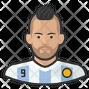Argentina Footballer Argentina Footballer Icon