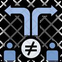 Conflict Convert Argument Icon