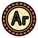 Ariary Madagaskar Currency Icon