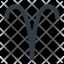 Aries Astrology Zodiac Icon