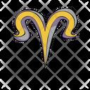 Aries Zodiac Sign Icon
