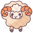 Aries Sign Icon