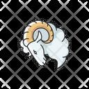 Aries Zodiac Sign Ram Aries Icon