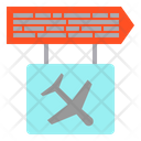 Ariport Board Airplane Icon