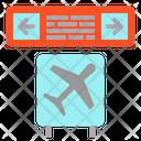 Ariport Board Flat Icon