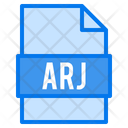 Arj File File Types Icon