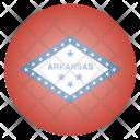 Arkansas Us State Icon