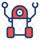 Arm Robotics Machine Icon