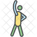 Arm Exercise Athlete Icon