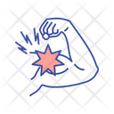 Muscle Strain Arm Icon