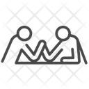 Arm Wrestle Arm Wrestling Competition Icon