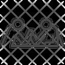 Arm wrestle Icon