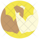 Arm Wrestling Muscle Icon