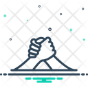 Arm-Wrestling Icon
