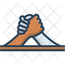 Arm Wrestling Arm Challenge Icon