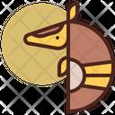 Armadillo Pet Animal Icon