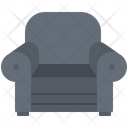 Armchair House Furniture Icon
